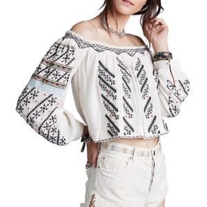 Free People All I Need Blouse